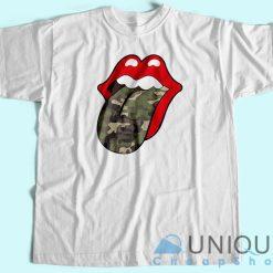 Camo Lips T-Shirt