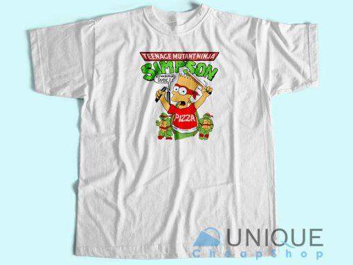 Simpson Teenage Mutant Ninja Turtles T-Shirt