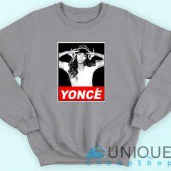 Beyonce Yonce Obey Sweatshirt