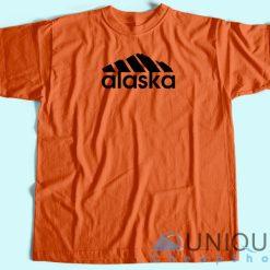 Alaska Adidas Logo T-Shirt