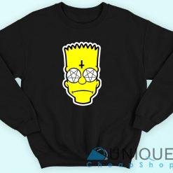 Bart Simpson Satanic Sweatshirt