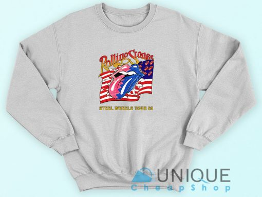The Rolling Stones Steel Wheels Tour Sweatshirt
