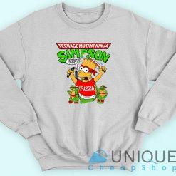 Simpson Teenage Mutant Ninja Turtles Sweatshirt