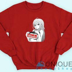 Waifu Girl Anime Sweatshirt