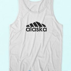 Now Alaska Adidas Logo Parody Tank Top Cheap