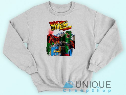 Back To The Future The Ride White Sweatshirt