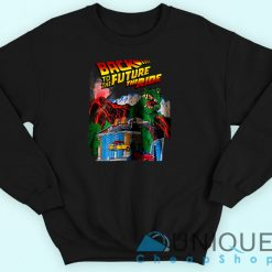 Back To The Future The Ride Sweatshirt Black