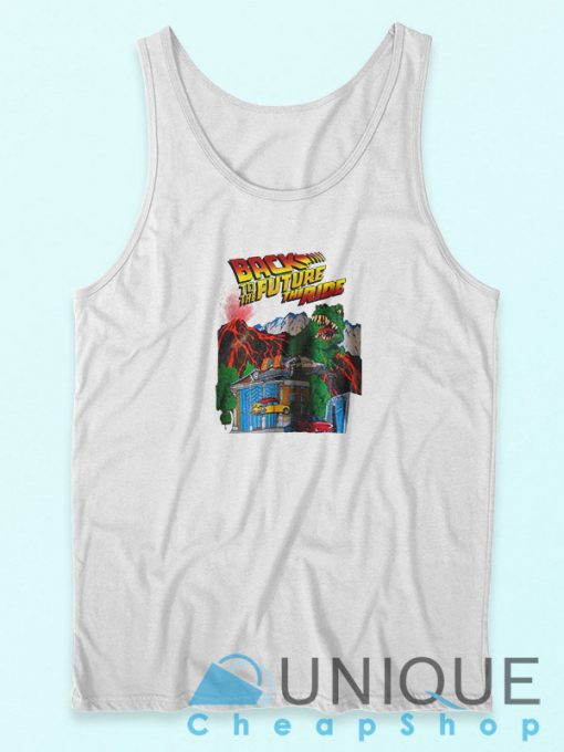 Back To The Future The Ride Tank Top