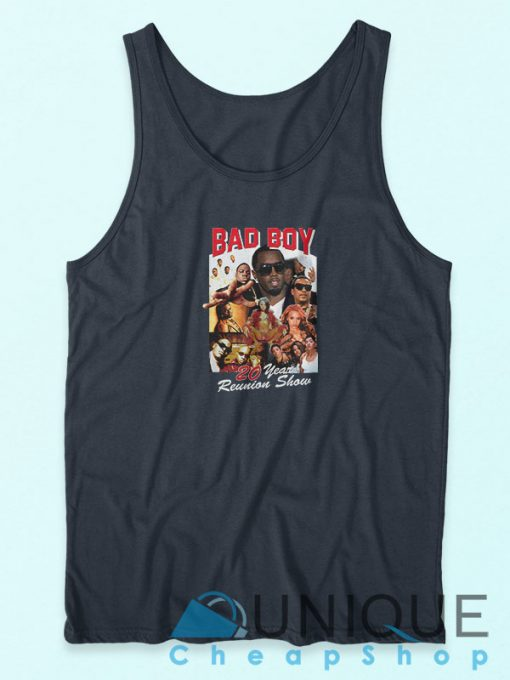Bad Boy 20 Year Reunion Show Tank Top