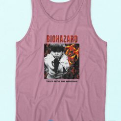 Biohazard Tales From The Hard Side Pink Tank Top