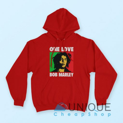 Hoodie Bob Marley One Love Hoodie Rerd