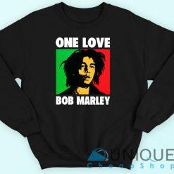 Bob Marley One Love Black Sweatshirt