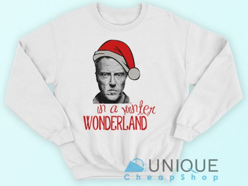 Christopher Walken Christmas Sweatshirt