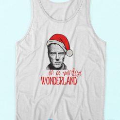 Buy It Now Christopher Walken Christmas White Tank Tops Cheap