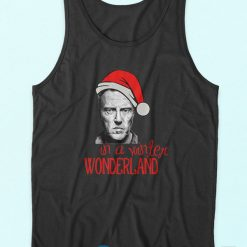 Christopher Walken Christmas Tank Tops