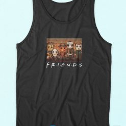 Friends Horror Character Squad Tank Top