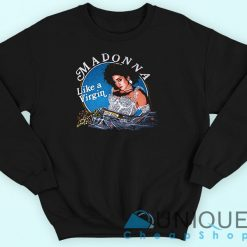 Madonna Like A Virgin Sweatshirt