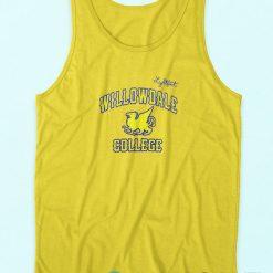 Onward Pullover Tank Top Yellow