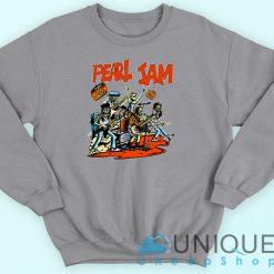 Pearl Jam grey Sweatshirt