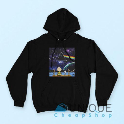 """Buy it Now """"Pink Floyd Snoopy Hoodie"""" Black Color Hoodie"""