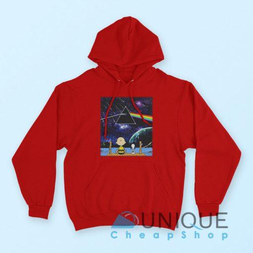 """Buy it Now """"Pink Floyd Snoopy Hoodie"""" Red Color Hoodie"""