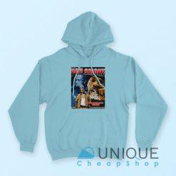 """Buy it Now """"Rapper Pop Smoke Hoodie"""" Blue Color Hoodie"""