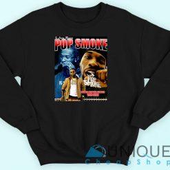 R.I.P Pop Smoke Black Sweatshirt