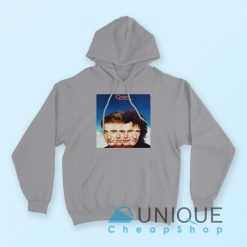 "Buy it Now ""Queen The Miracle Album Hoodie"" Grey Color Hoodie"