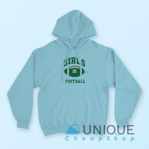 Girls Football Hoodie