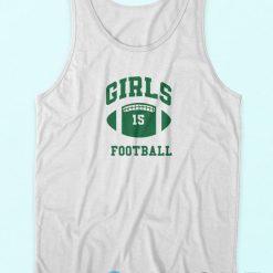 Girls Football Tank Top