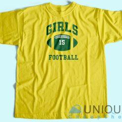 Rachel Girls Football T-Shirt