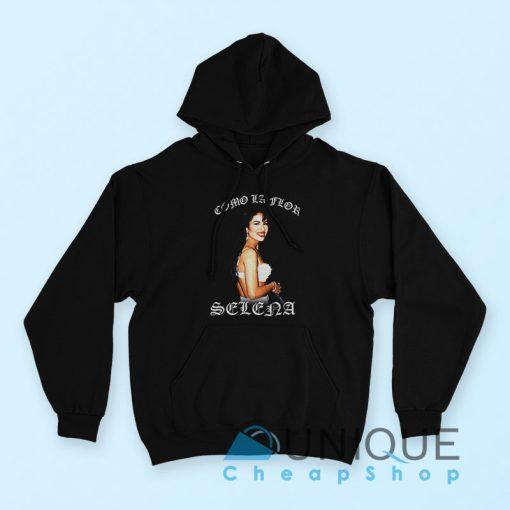 """American Singer Selena Quintanilla Hoodie"""" the best hoodie black color"""
