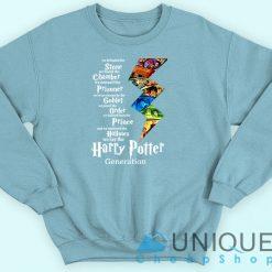 The Harry Potter Generation Sweatshirt Blue