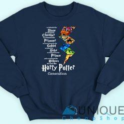 The Harry Potter Generation Sweatshirt Navy