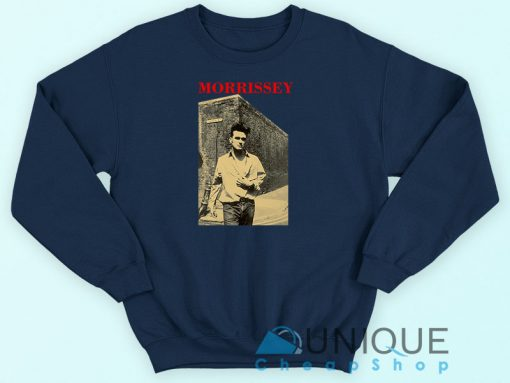 The Smiths Morrissey Sweatshirt Navy