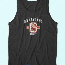 Disneyland Grumpy Tank Top Black