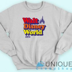 Vintage Walt Disney World 1971 Sweatshirt