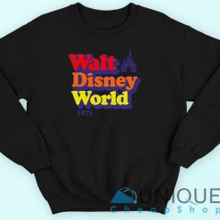 Vintage Walt Disney World 1971 Sweatshirt Black