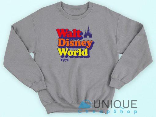 Vintage Walt Disney World 1971 Sweatshirt