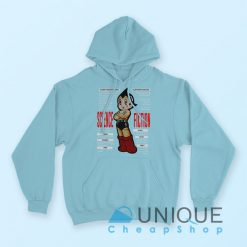 Astro Boy Science Fiction Hoodie Blue Color Hoodie