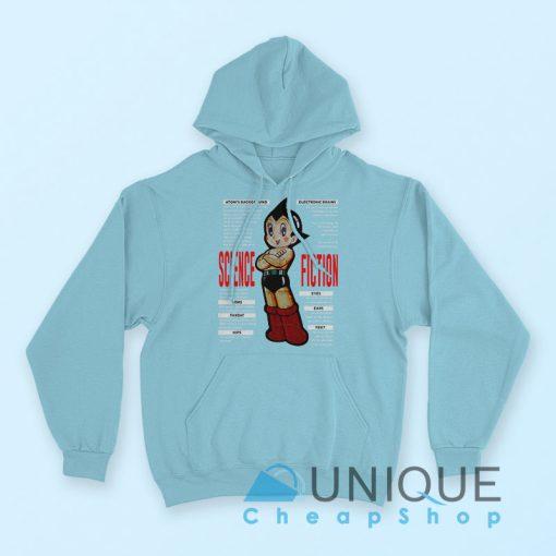 Astro Boy Science Fiction Hoodie Blue Color Hoodie