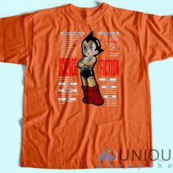 Vintage 90s Astro Boy Science Fiction T-shirt Orange