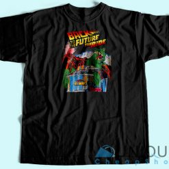 Back To The Future Universal Studio Unique Cheap T-shirt