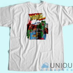 Back To The Future Universal Studio Unique Cheap T-shirt White