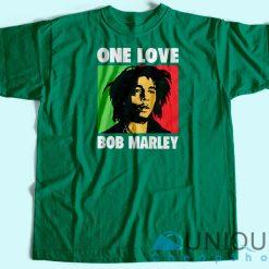 Bob Marley One Love T-Shirt Green