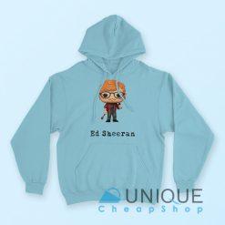 Ed Sheeran Hoodie Blue Color Hoodie