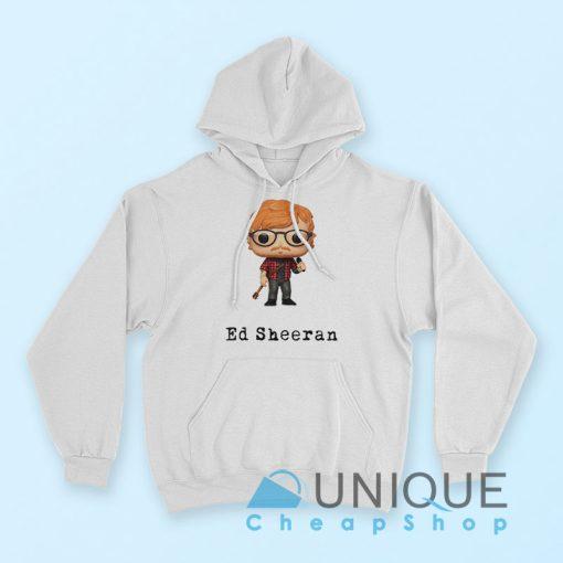Ed Sheeran Hoodie White Color Hoodie
