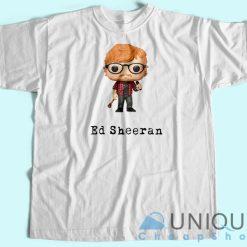 Ed Sheeran Cartoon T-Shirt