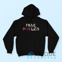 Mac Miller Font Hoodie