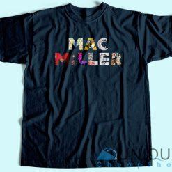 Mac Miller Album T-Shirt Navy